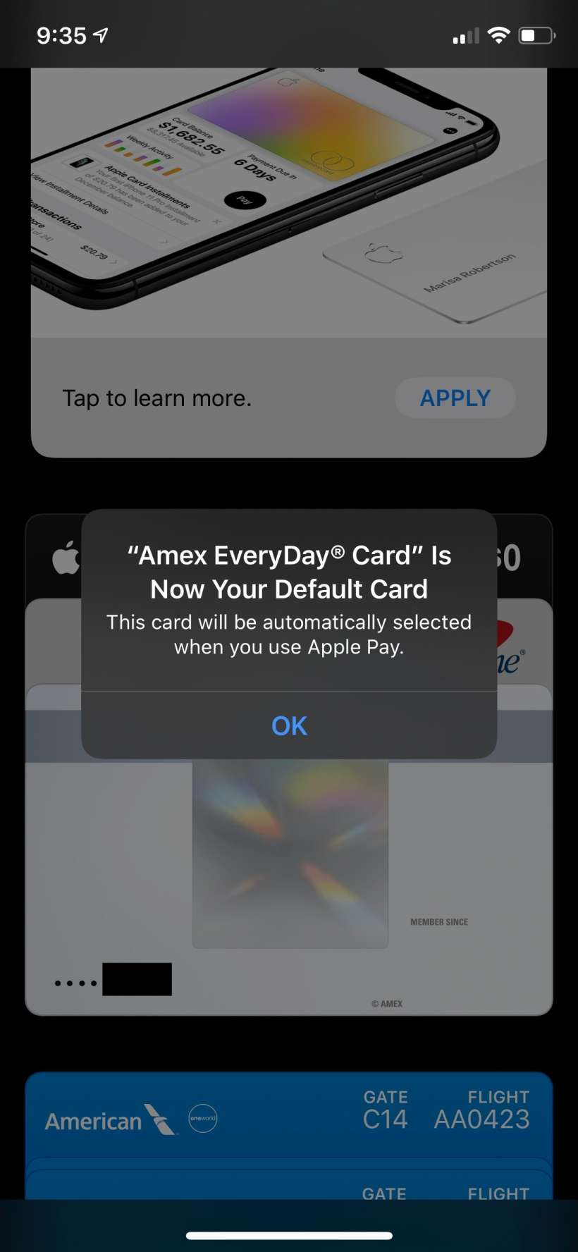 How to change your default Apple Pay credit/debit card in the Wallet app on iPhone.