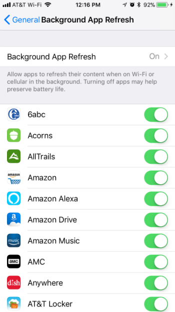 How to set background app refresh to Wi-Fi only on iPhone and iPad.