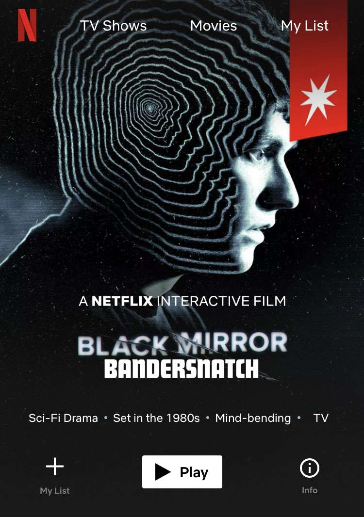 Black Mirror: Bandersnatch iPhone