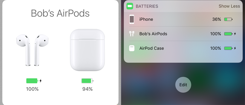 new arrivals e8a26 04607 How do I check AirPods / case battery levels? | The iPhone FAQ