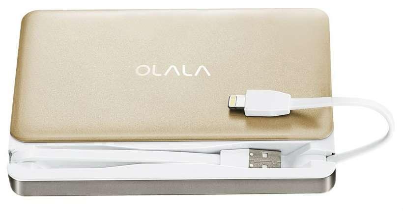 OLALA 7500mAh Slide Power Bank External Battery Pack