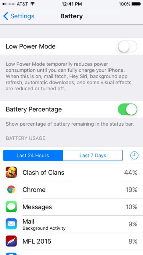 How to extend your iPhone's battery life.
