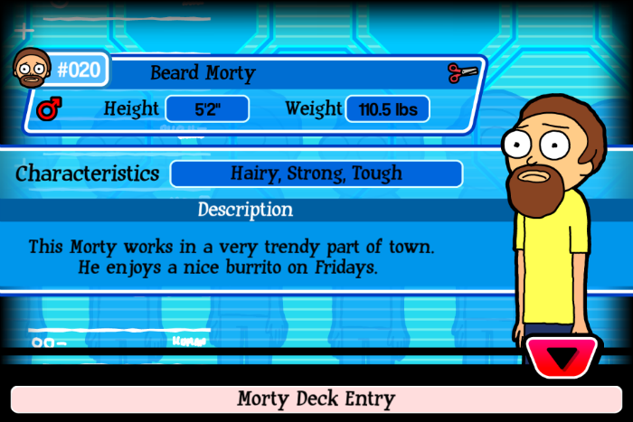 Beard Morty