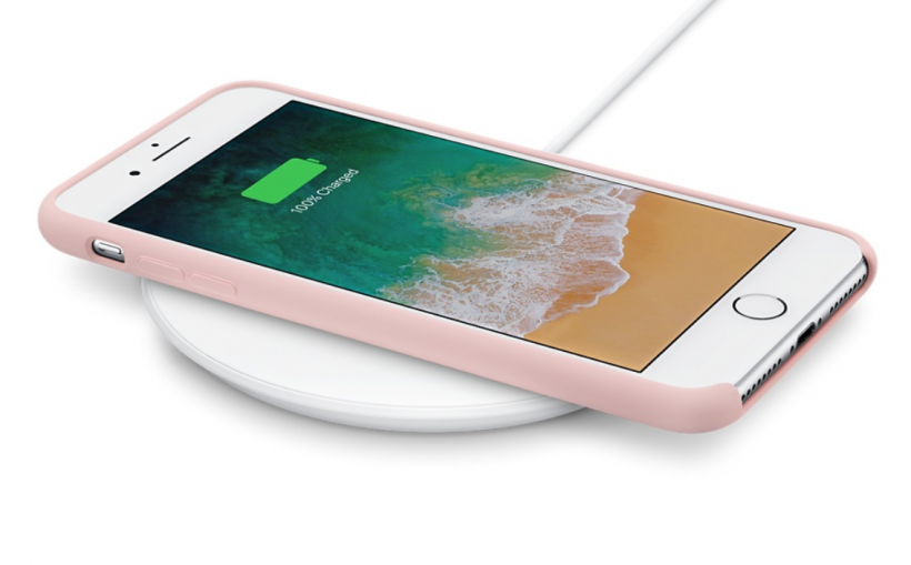 iPhone Qi charger