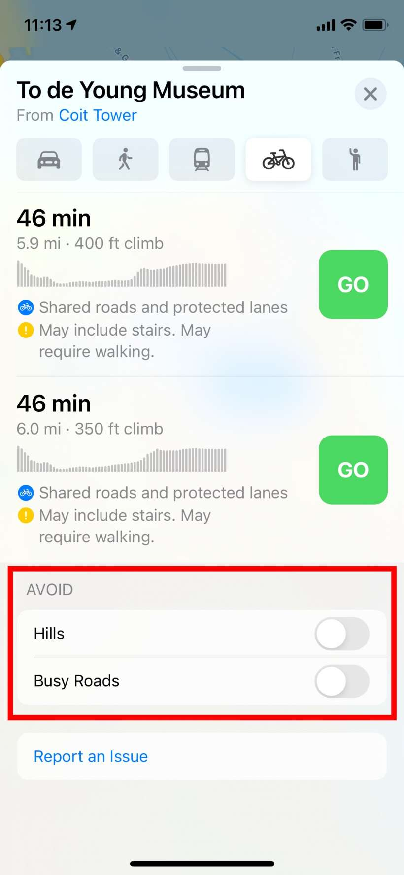 How to use cycling / bicycle directions in Apple Maps on iPhone and iPad.