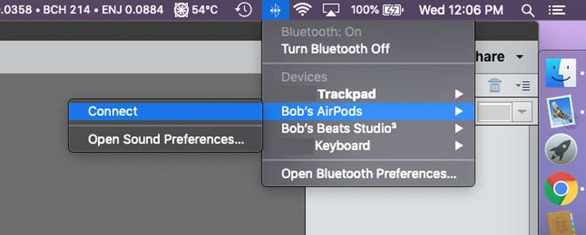 Làm cách nào để kết nối AirPods với máy Mac của tôi? 3