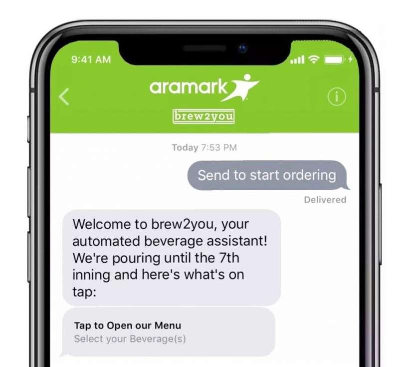 Aramark iOS Business Chat