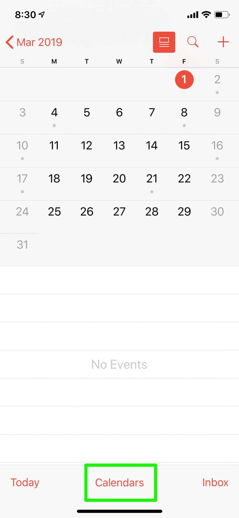 How to hide work, private and other calendars in Calendar for iPhone and iPad.