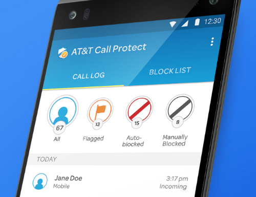 How To Use At T S Free Call Protect App To Block Spam Calls The
