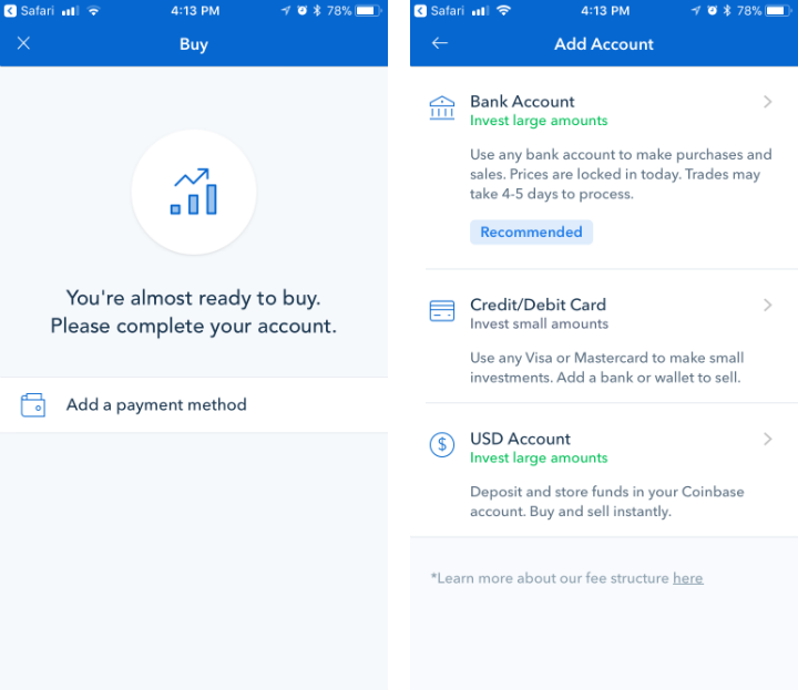 Coinbase changes instant buy bitcoins how to turn paypal money into bitcoins to dollars