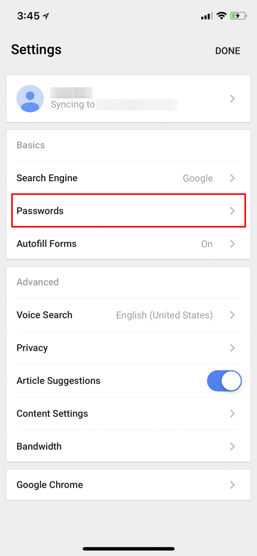How to export your Chrome for iOS passwords on iPhone and iPad.