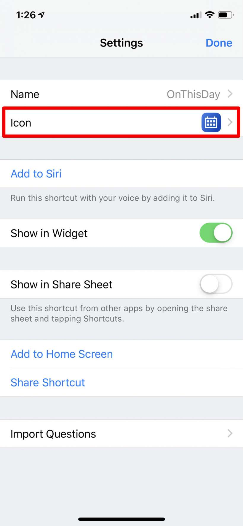 How to change a Shortcut icon on your iPhone or iPad Home Screen.