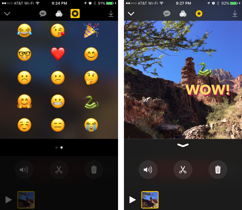 How to apply filters and effects in Clips for iPhone and iPad.