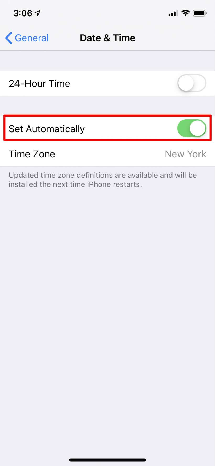 How to manually change the time on iPhone and iPad.