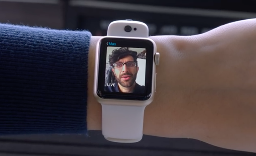 Apple Watch FaceTime CMRA