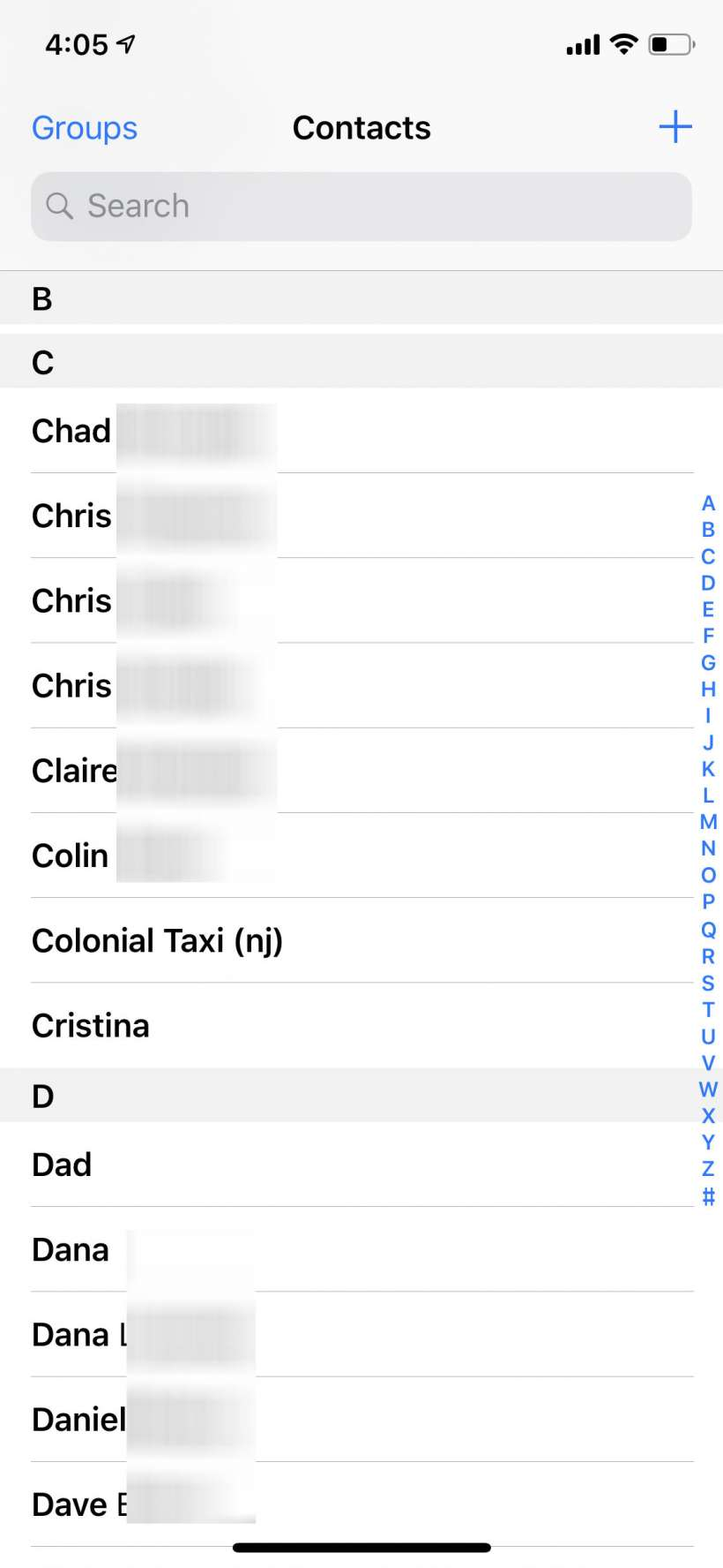 How to sort your Contacts by first name on iPhone, iPad and Mac.