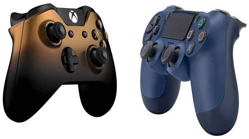 Bluetooth gaming controllers