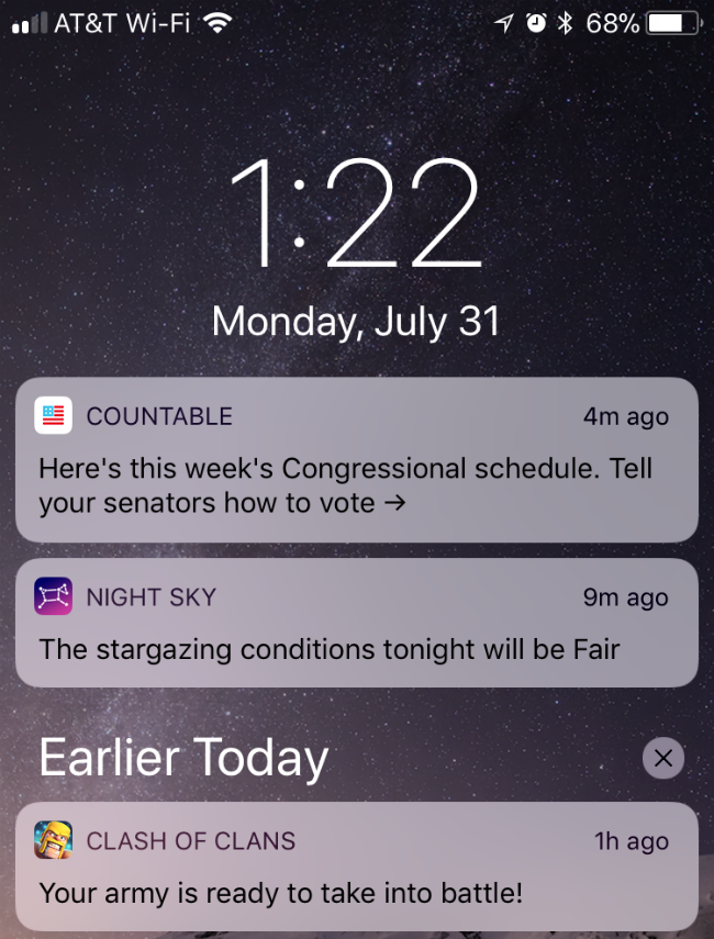 How to use Notifications and Cover Sheet in iOS 11on iPhone and iPad.