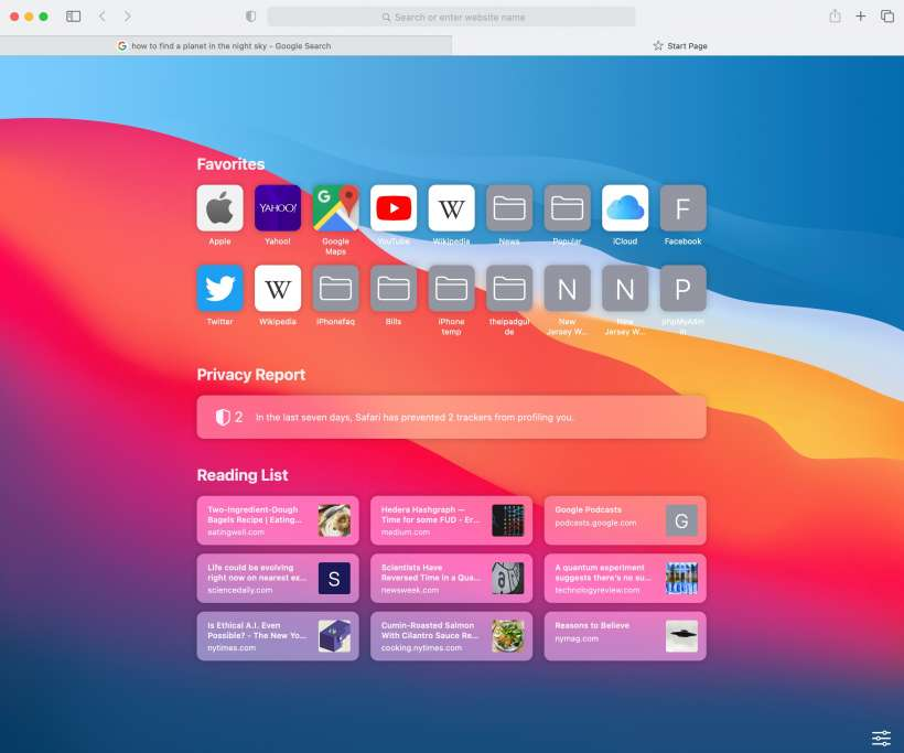How to customize and personalize your start page in Safari on Mac.