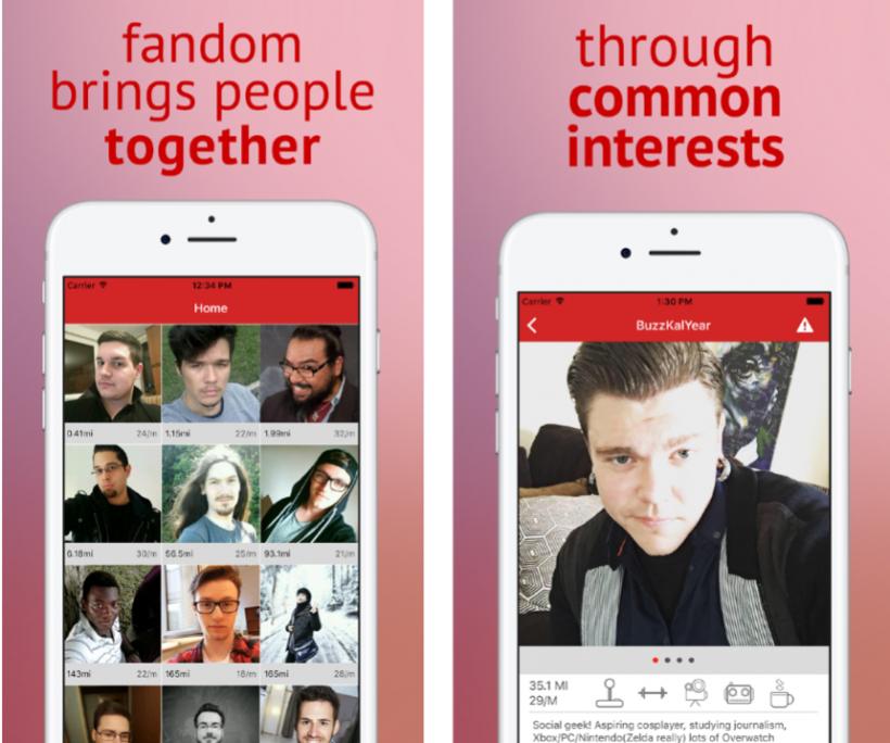 Dating iOS-appar