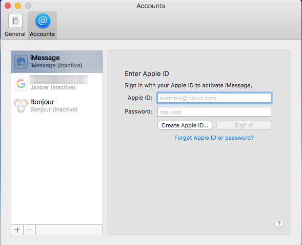 How to delete your Apple ID account from Messages on your