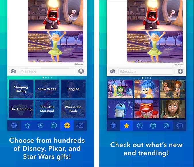 Disney Gif app of the week