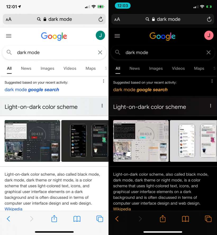 How to quickly put Safari into dark mode on iPhone and iPad.