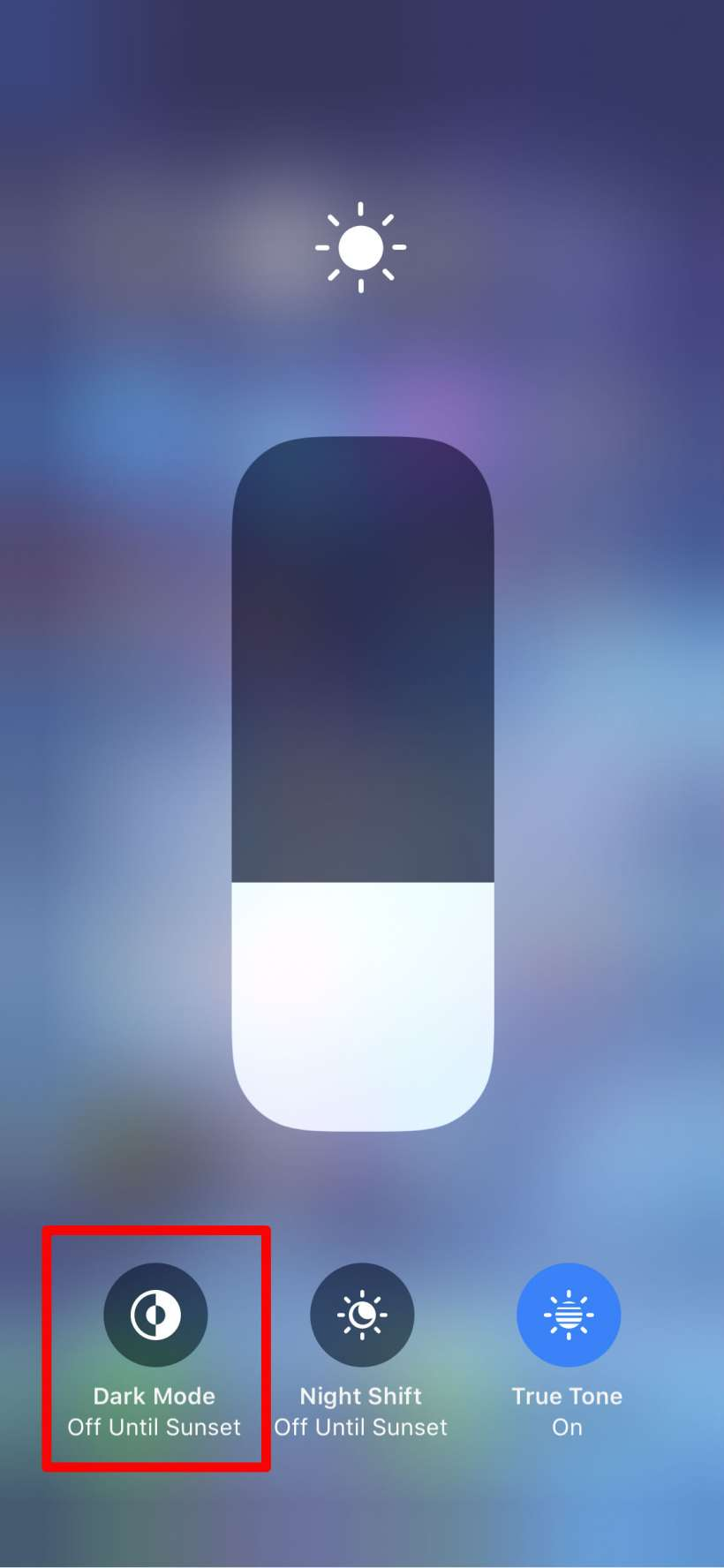 How to add a dark mode button to the Control Center on iPhone and iPad.