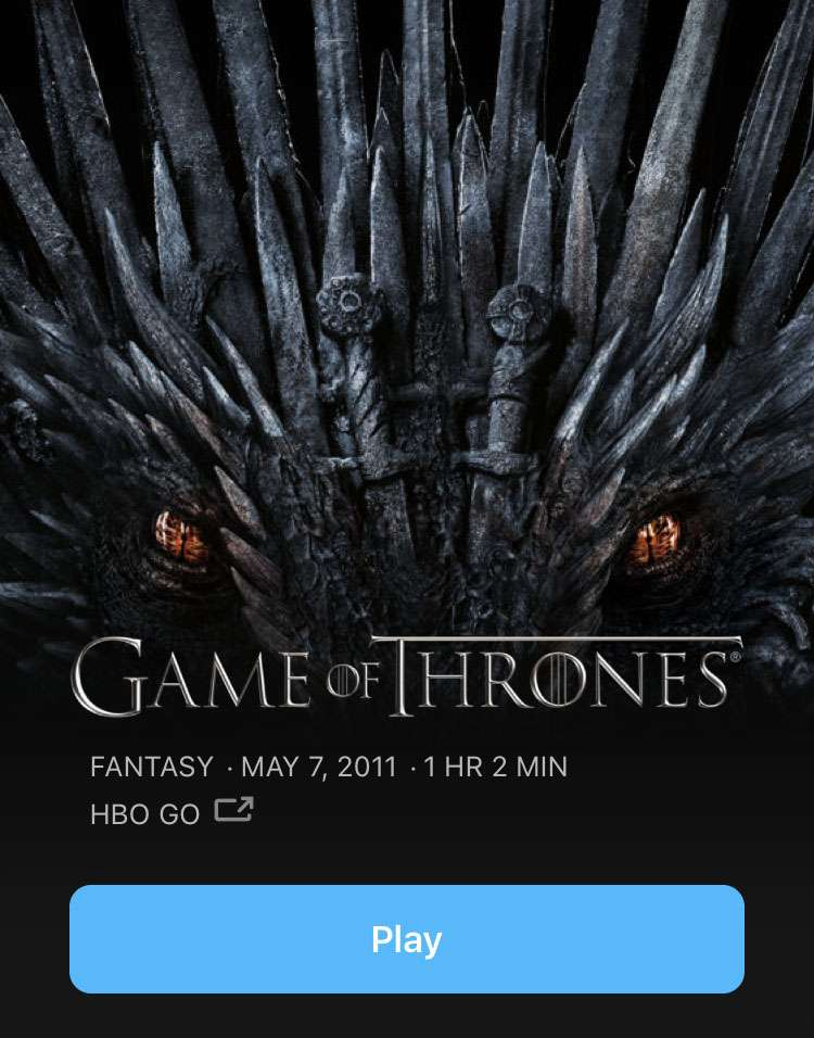 HBO show download iOS device
