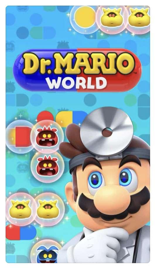 Nintendo Dr Mario World