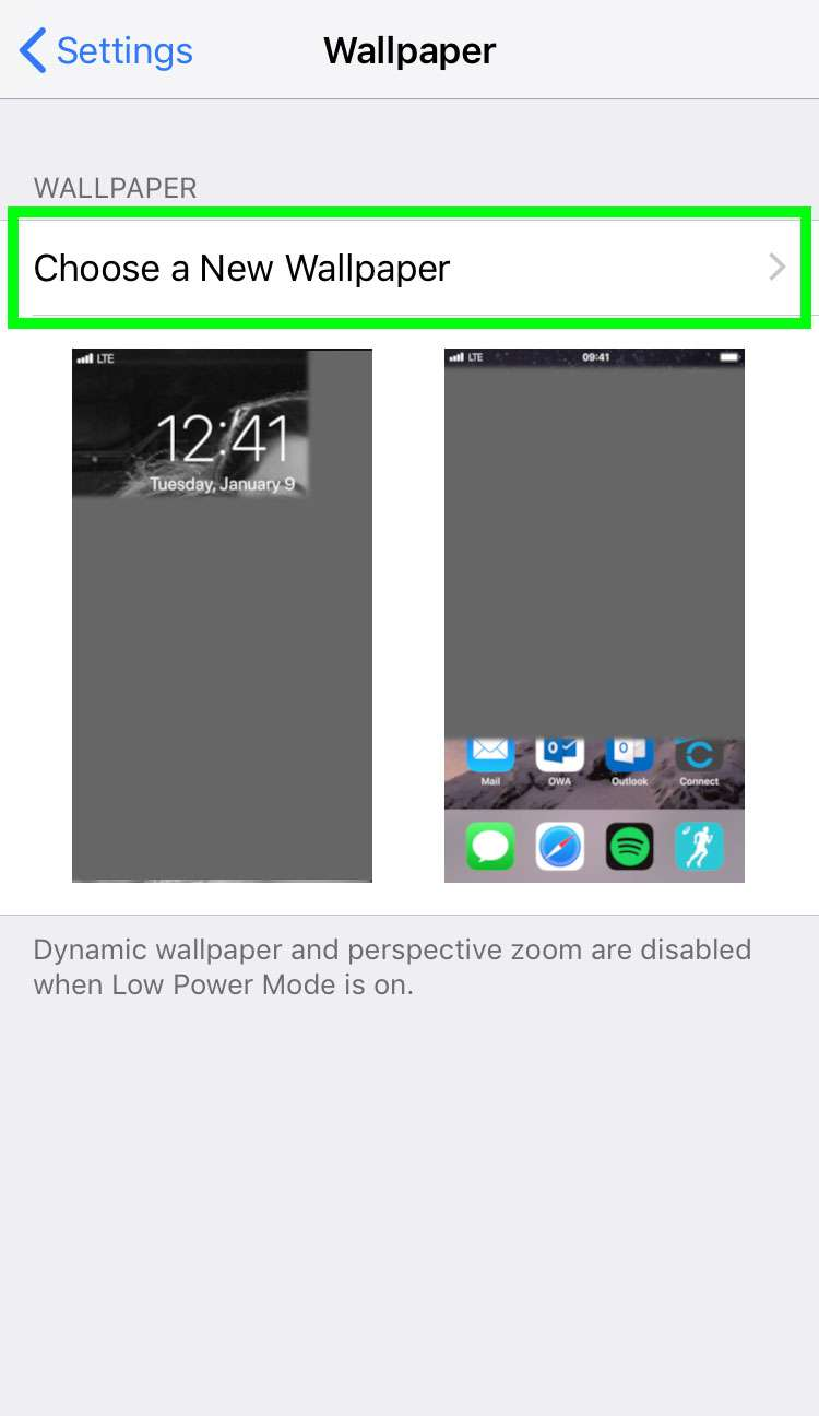 create dynamic wallpapers on iphone