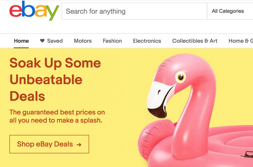 eBay and Pink Flamingos