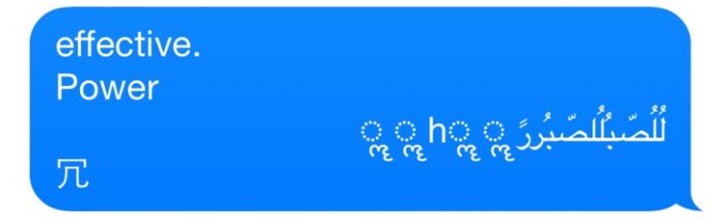 Unicode of Death