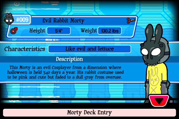 Evil Rabit Morty