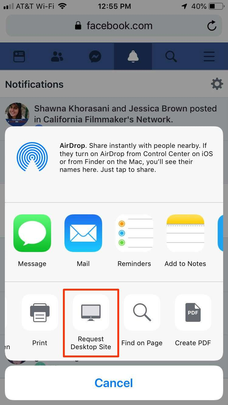 How to send messages on Facebook without Messenger   The