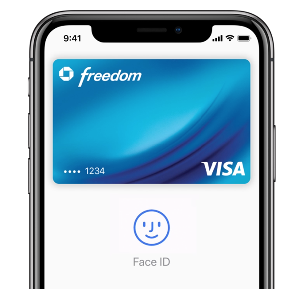 Face ID Apple Pay authentication