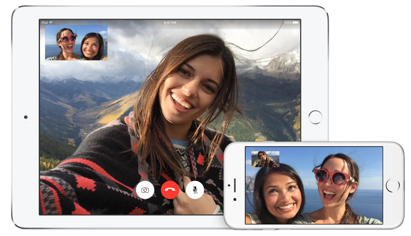 FaceTime video call iOS