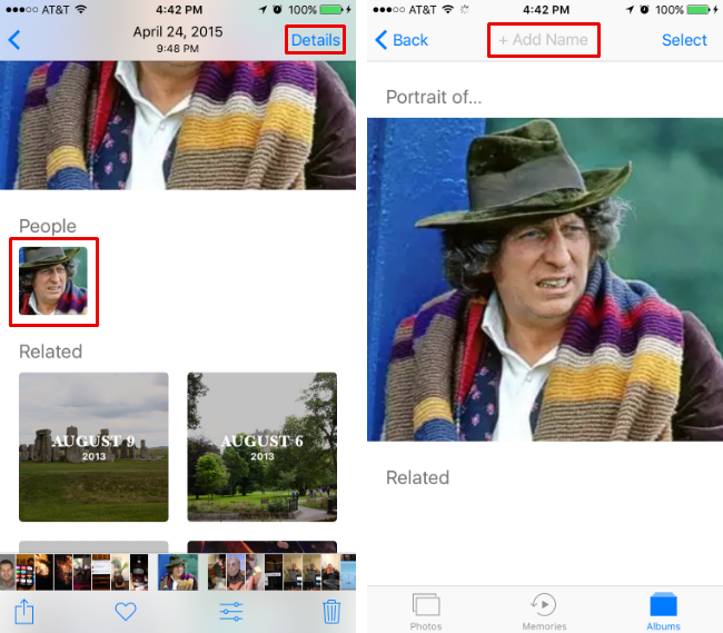 How to identify people in your photos in iOS 10.