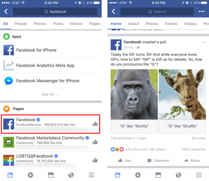 facebook makes gifs available in comments in celebration of the