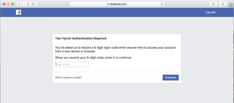 How to enable 2FA two-factor authentication on Facebook on iPhone and iPad.
