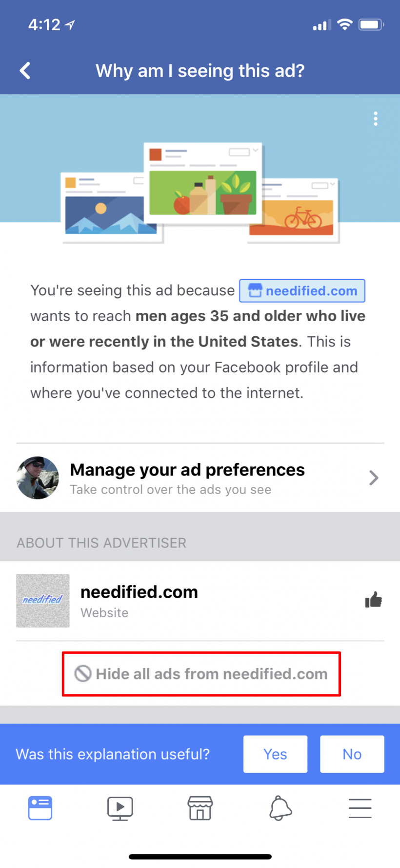 How to block Facebook ads on iPhone and iPad.