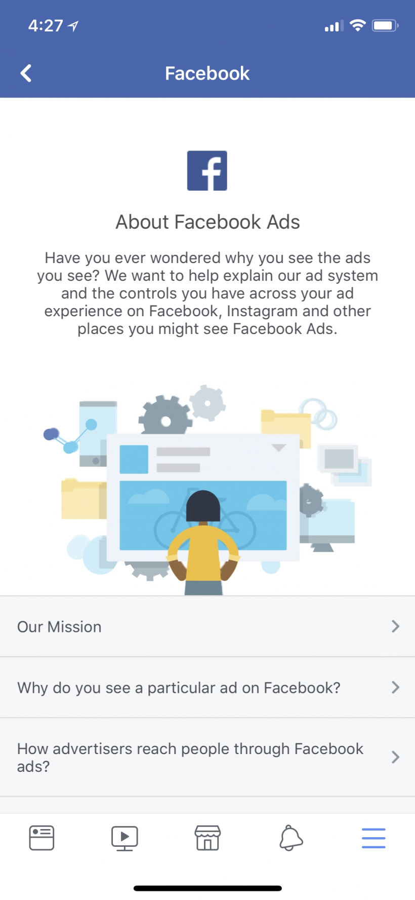 How to manage your Facebook Ad Preferences on iPhone and iPad.