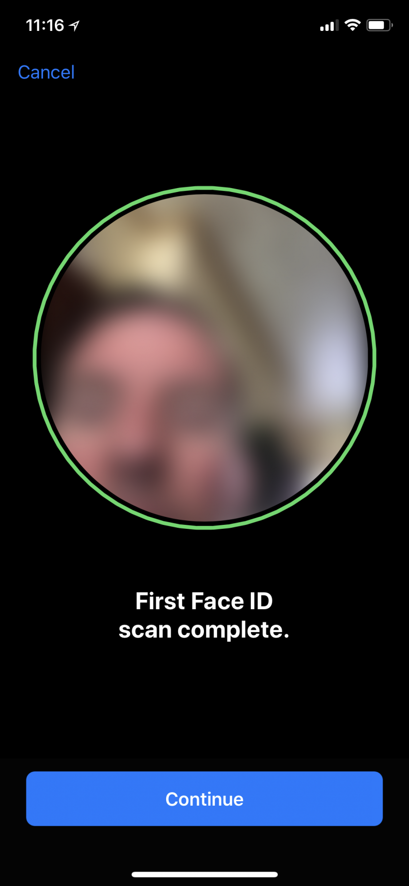 How to set up Face ID on iPhone X.