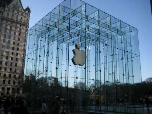 Apple store, NYC.