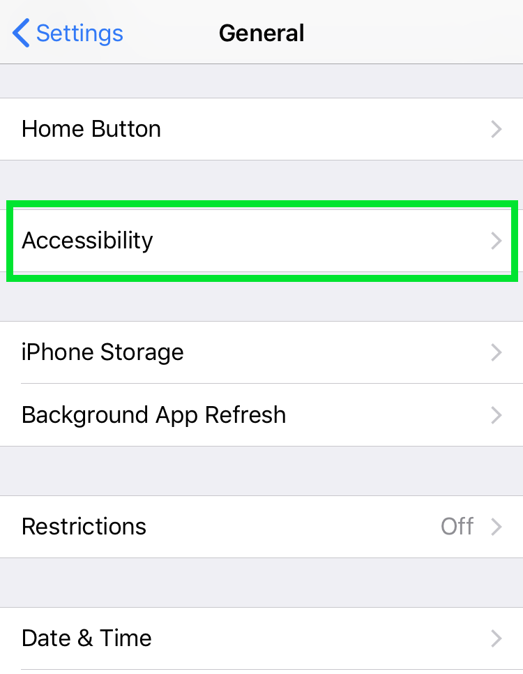 how to get led flash alerts on iphone the iphone faq. Black Bedroom Furniture Sets. Home Design Ideas