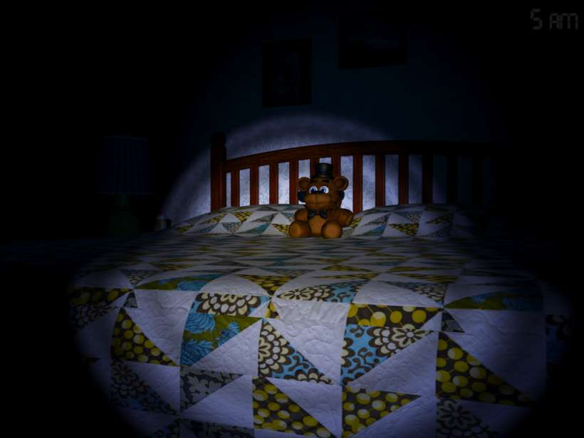 Scott Cawthon talks Five Nights at Freddy's 4 Halloween