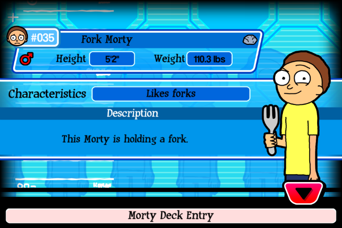 Fork Morty