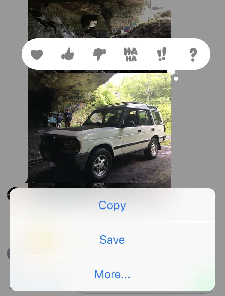 Forward iMessage on iPhone