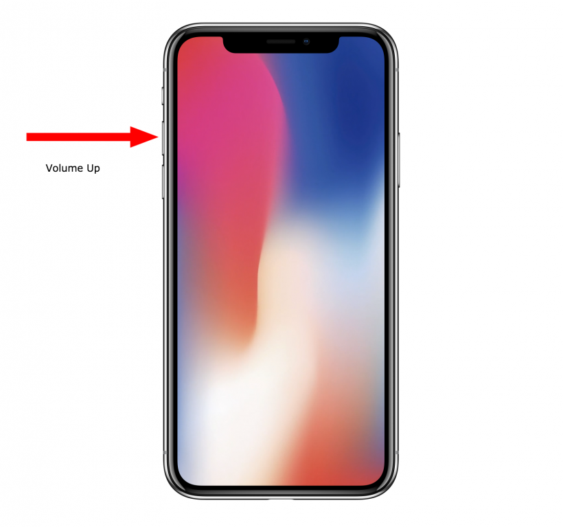 How to force reboot iPhone X when it has crashed.