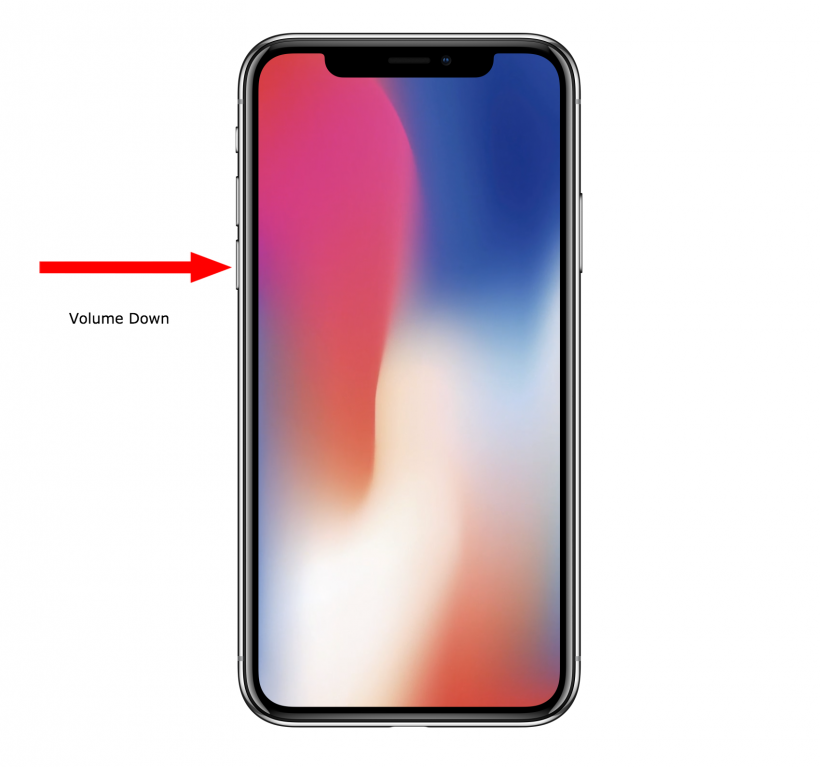 How to force reboot iPhone X when it is frozen.